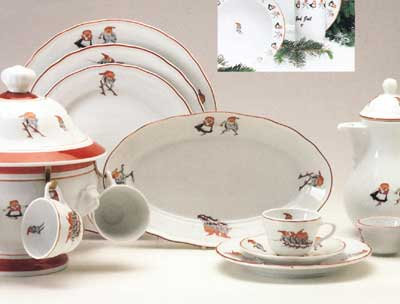 Nisse - 5 piece place setting