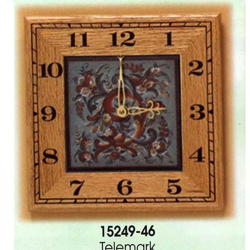 Clocks - Blue Telemark