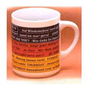 German Mug - German Language