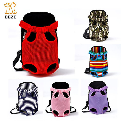Dog Carrier Bag Adjustable Pet Front Backpack for Small Dog
