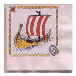 Napkin - Vikings at Sea - Lunch