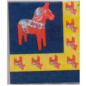 Napkin - Dala Horse - Lunch