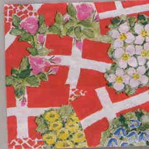 Napkin - Danish Floral