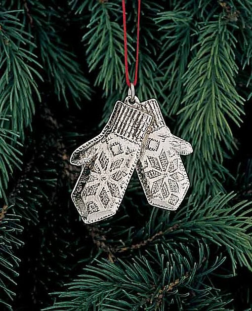 Pewter Mittons Ornament
