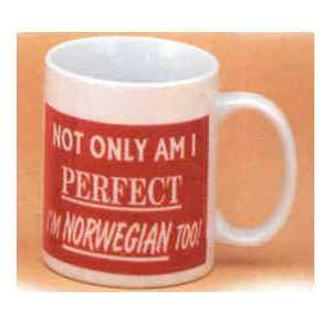 Scandinavian Mug - Perfect a Norwegian