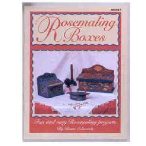 Rosemaling Boxes. Vol I