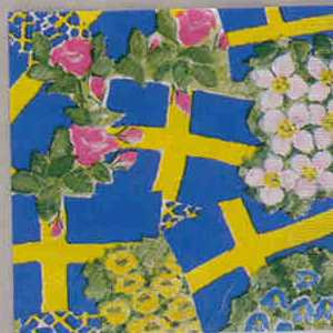 Napkin - Swedish Floral