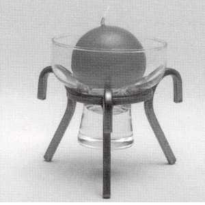 Iron Candleholder - 3 Legs
