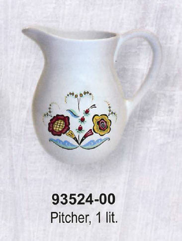 Swedish Flower Dinnerware - Pitcher