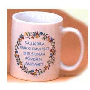 Scandinavian Mug - Finnish Prayer