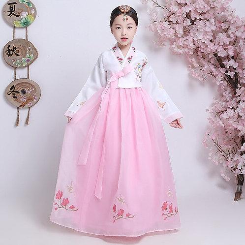 Korea Traditional Hanbok Dress for Children