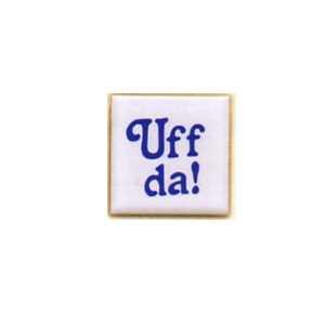 Ceramic Magnets - Blue Uffda