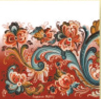 Napkin - Red Rosemal