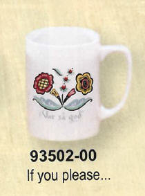 Swedish Flower Dinnerware - Coffee Cup