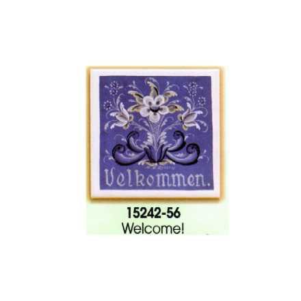 Decorator tile - Velkommen