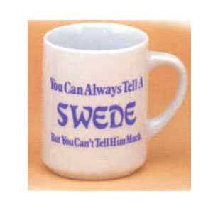 Scandinavian Mug - Tell..Swede