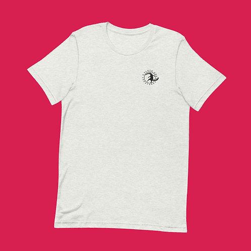 Cloth and Creatures Ameisenbär Logo | Unisex, Weiß, U-Ausschnitt, T-Shirt