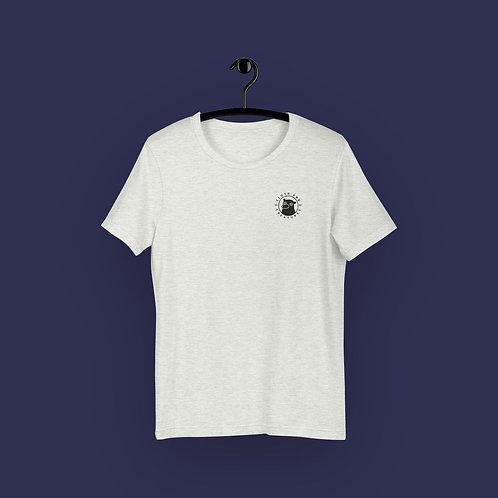 Cloth and Creatures Bär Logo | Unisex, Hellgrau, U-Ausschnitt, T-Shirt