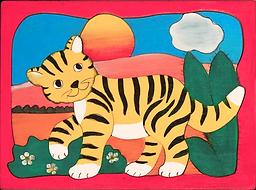 kleiner Tiger, Kinderpuzzle
