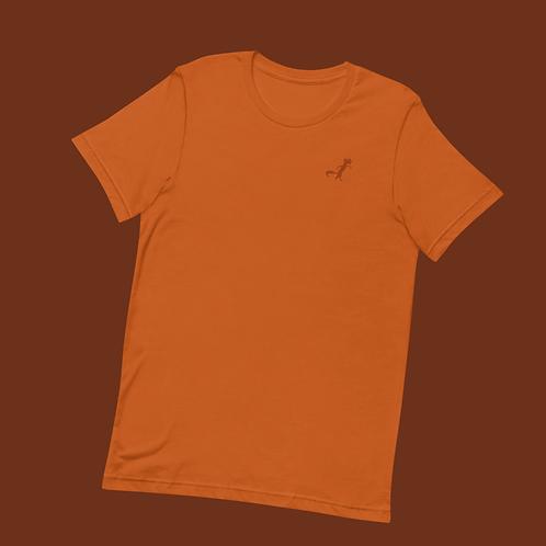 Kleiner Fuchs | Unisex, Orange, U-Ausschnitt, T-Shirt