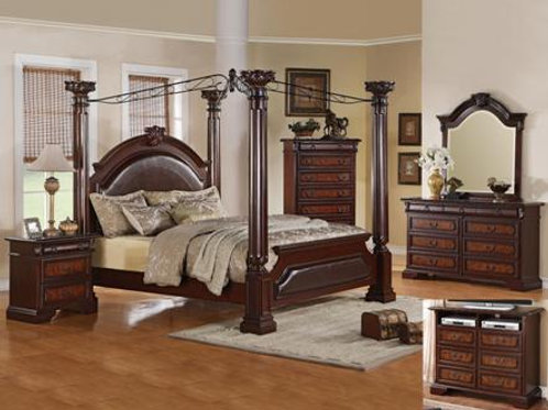 Neo Renaissance Bedroom Set King