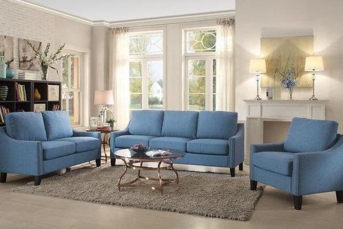 Zapata Blue Sofa & Loveseat