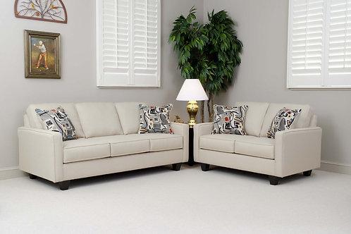 Graham Cream Sofa & Love Seat