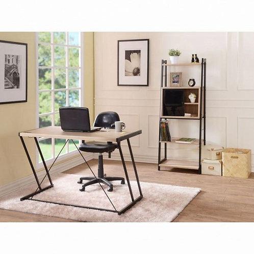 Finis Light Oak & Black Desk