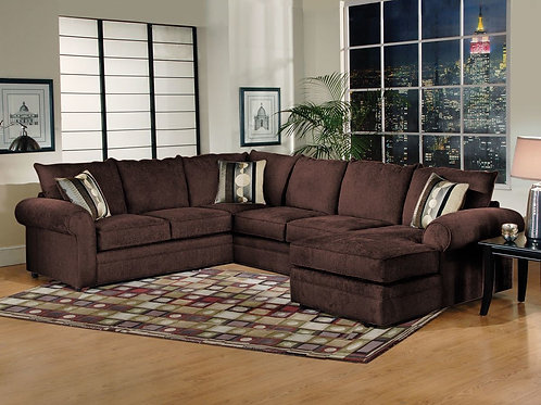Sidekick Fudge Sectional (3-Piece)
