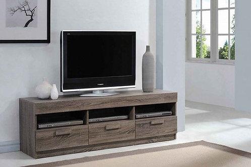 Alvin Rustic Oak TV Stand