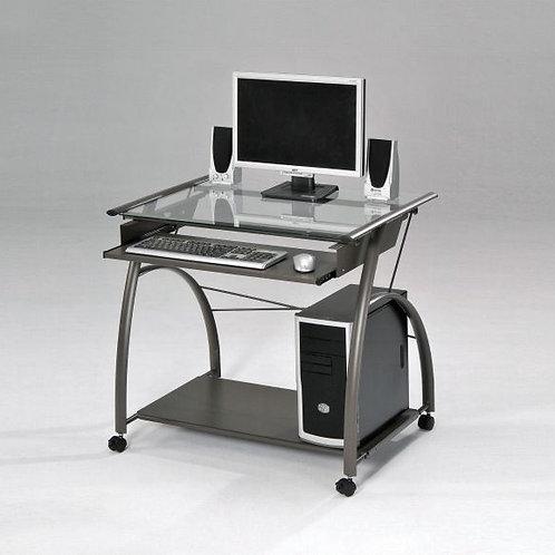 Vincent Pewter Computer Desk
