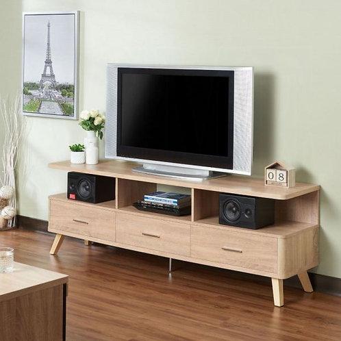 Lakin Rustic Natural TV Stand
