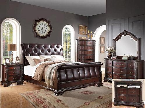 Sheffield Sleigh Bedroom Set King