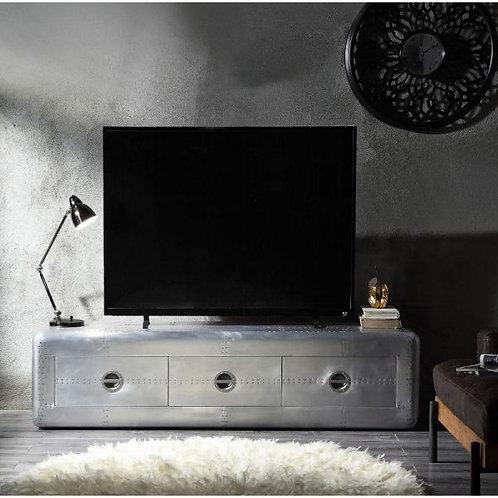 Brancaster Aluminum TV Stand