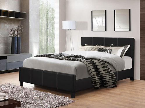 Black Bed Frame-Queen