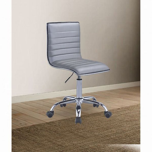 Alessio Silver & Chrome Office Chair