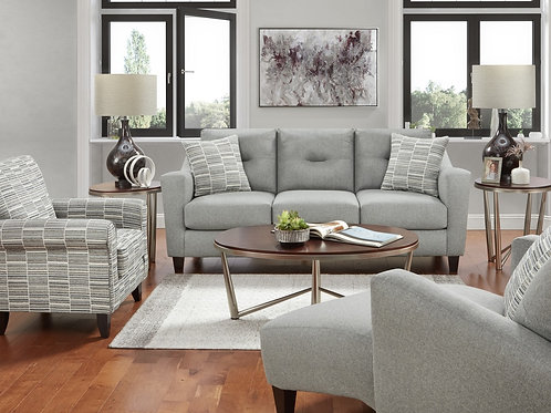 TNT Charcoal Sofa & Loveseat