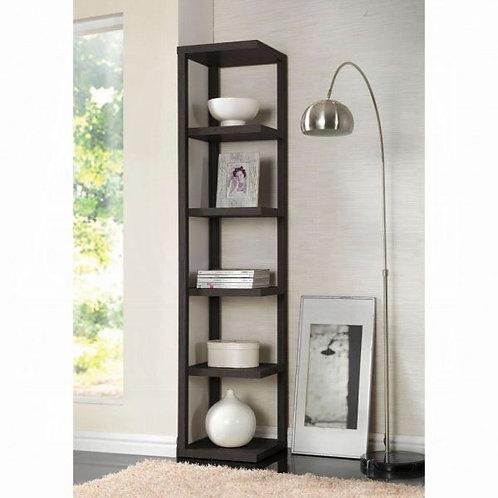Mileta Cappuccino Bookcase