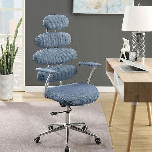 Noma Light Blue Mesh Office Chair