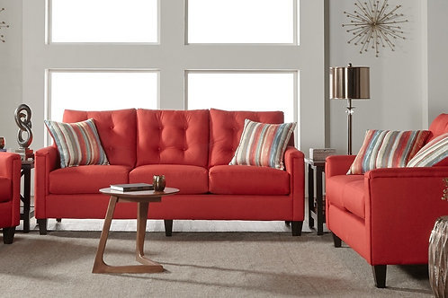 Jitterbug Red Sofa & Loveseat
