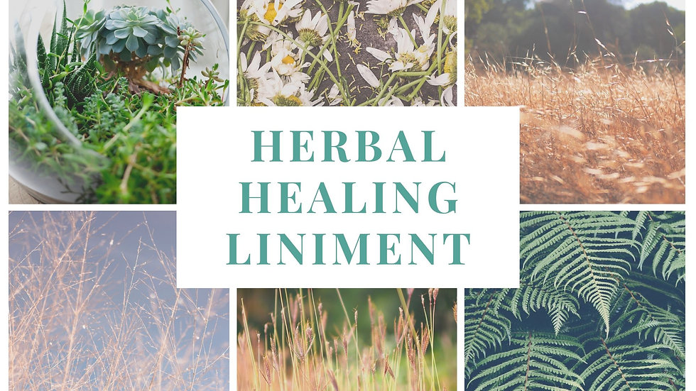 Herbal Healing Liniment