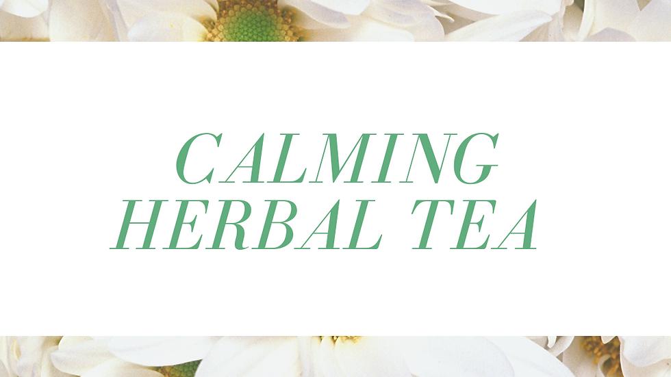 Calming Herbal Tea Blend