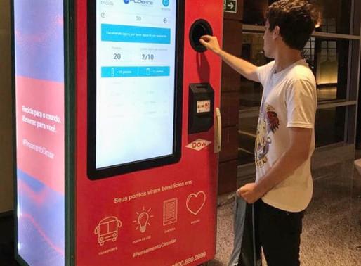 Já pensou em trocar garrafa PET por créditos no transporte público?