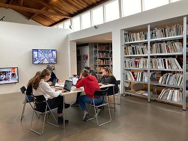 Bibliotheek-studenten SintLucas-Talent Wall  Mirte van Duppen-foto Huig Bartels.JPG