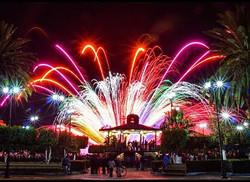 Fireworks San Blas Plaza