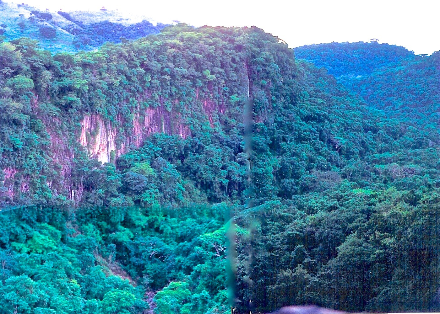 Canyon cliffs