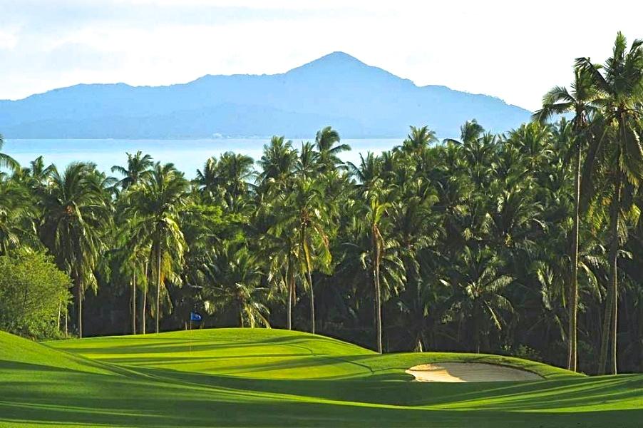 Fazio golf fairway bay view A