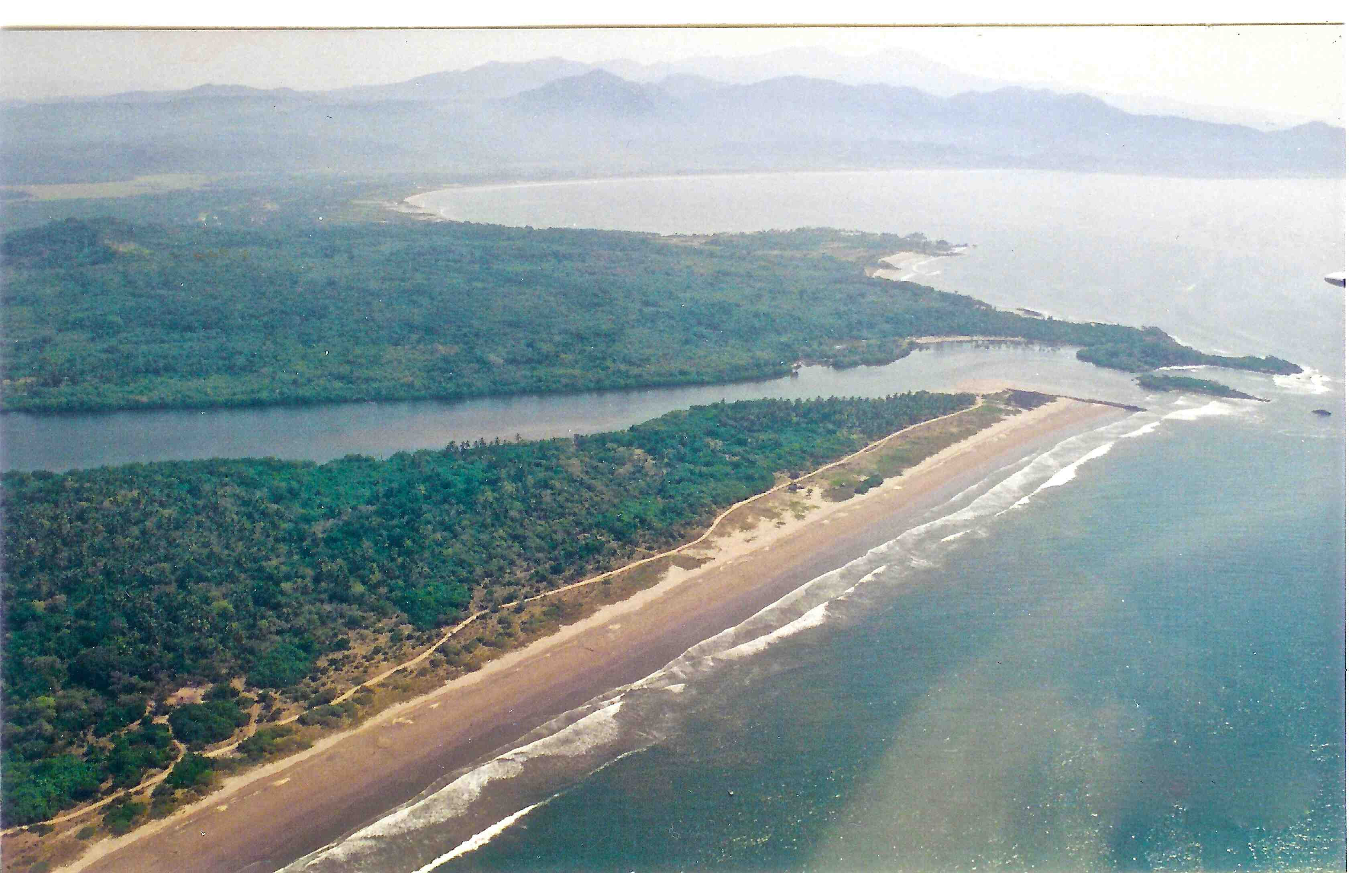 Aerial E San Cristobal River