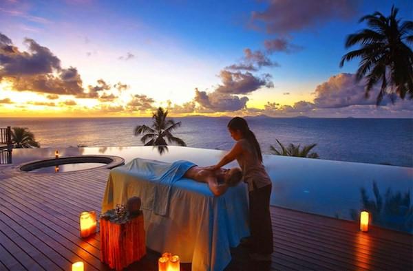 hotel 5 star spa island sunset