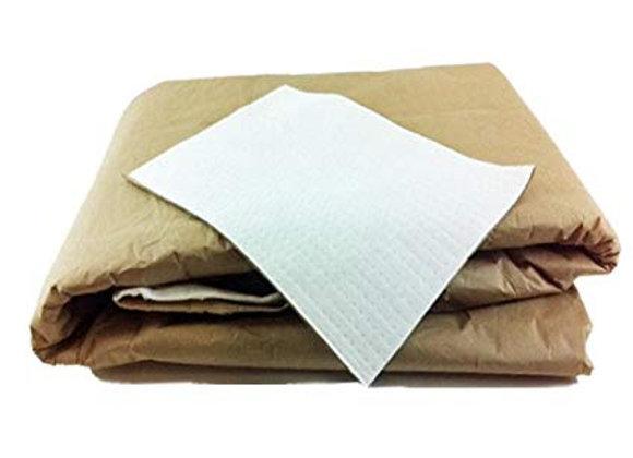 Brown paper pads